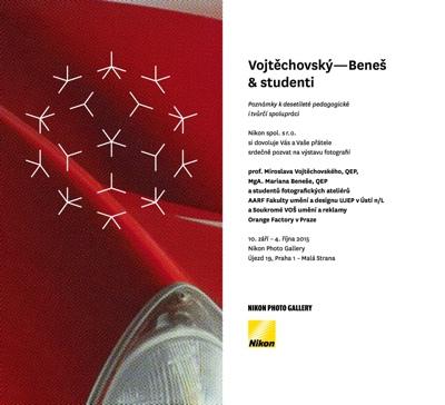 Vojtěchovský–Beneš & studenti – výstava v Nikon Photo Gallery
