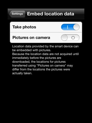 Wi-Fi ve fotoaparátu