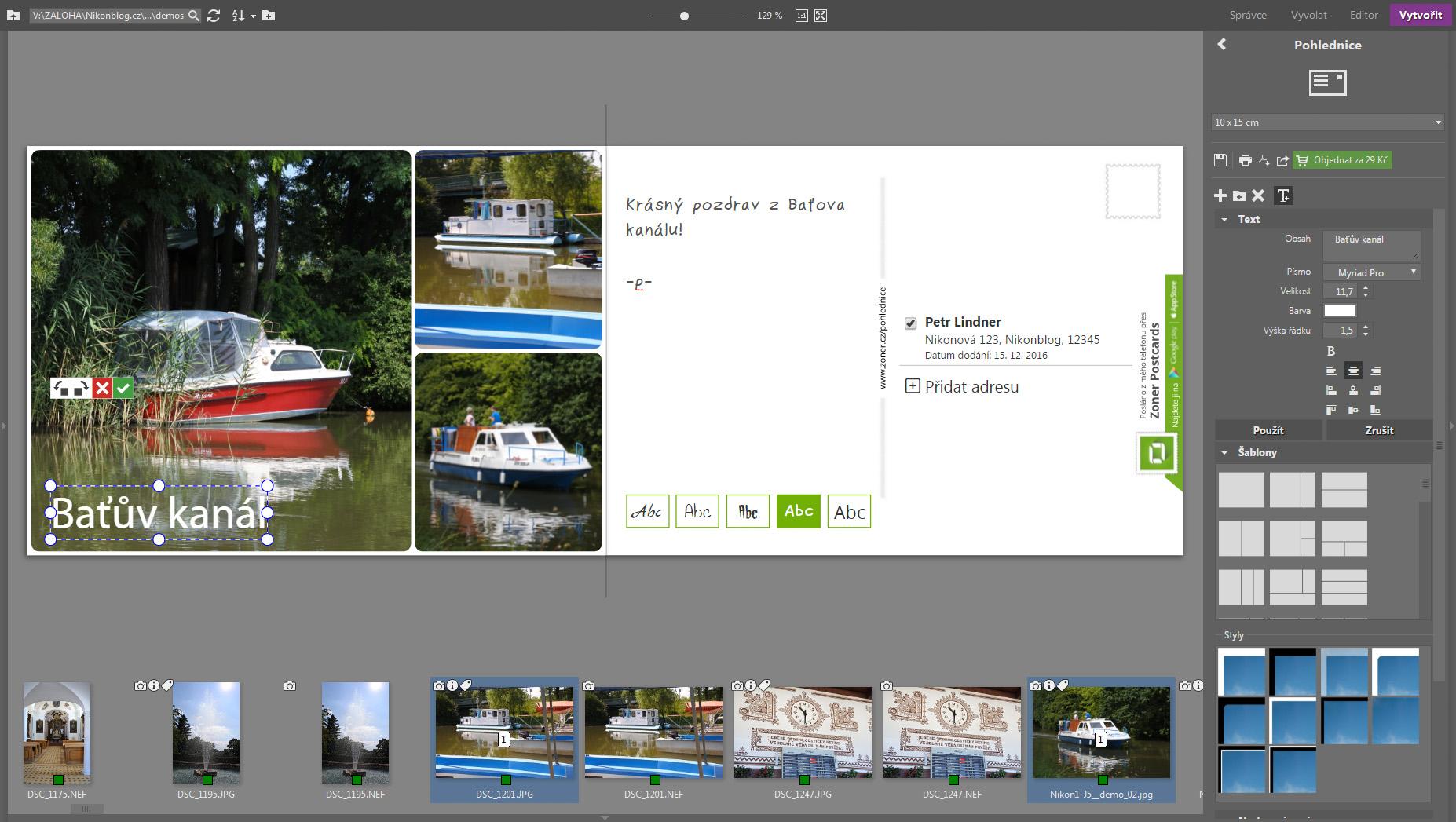 Nový Zoner Photo Studio X poprvé aktualizován