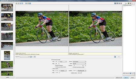 Zoner Photo Studio – hromadný filtr