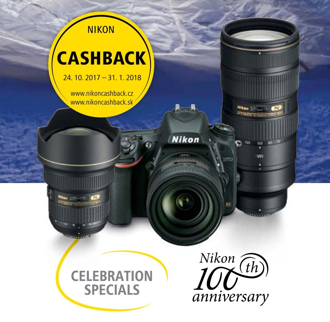 Zimní cashback Nikonu 2017