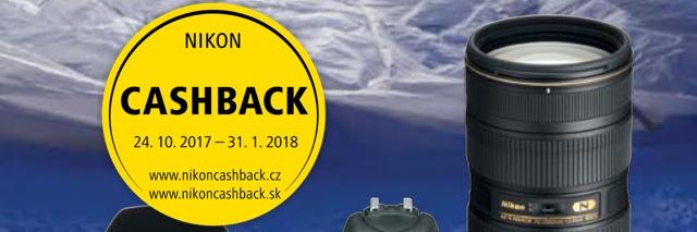 100 dní hájení aneb Zimní cashback Nikonu ke 100. výročí založení společnosti