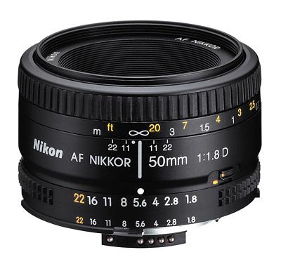 AF Nikkor 50 mm F1,8D