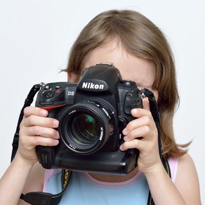 Anna a Nikon D3