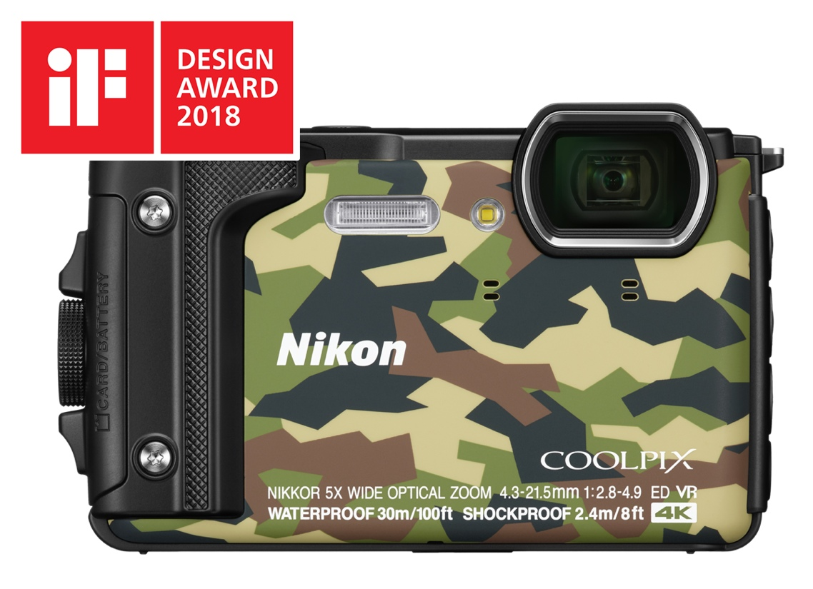 Nikon Coolpix W300 – iF Design Award 2018