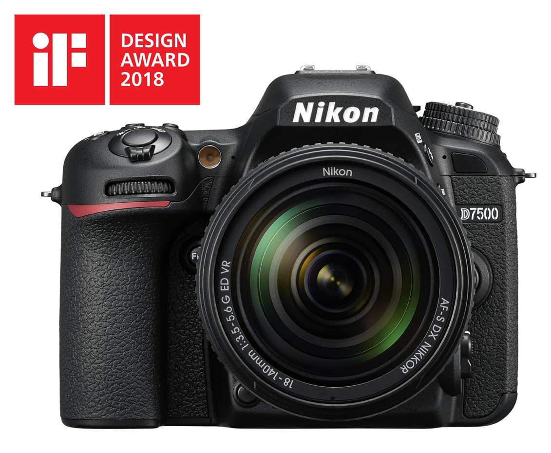 Nikon D7500 – iF Design Award 2018