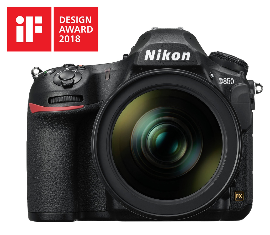 Nikon D850 – iF Design Award 2018