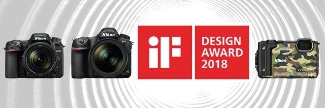 Třikrát ocenění iF Design Award 2018 pro Nikon