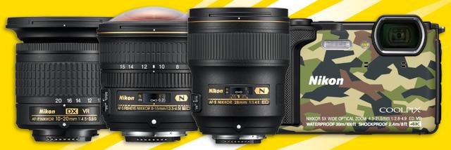 """3+1 od Nikonu. """"Jarně-letní"""" novinky, u kterých se vám bude tajit dech"""