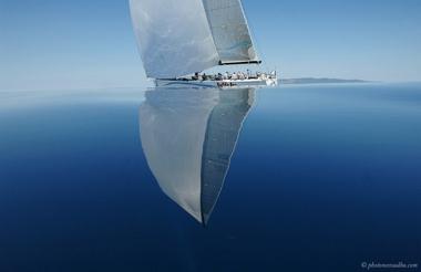 Loňské bezvětrné mistrovství světa v námořním ORC jachtingu bylo o nervech a štěstí | Foto Pavel Nesvadba