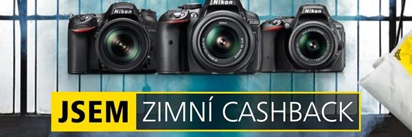 Zimní cashback Nikonu